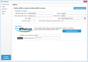 Galileo eRacuni_postavke eračun